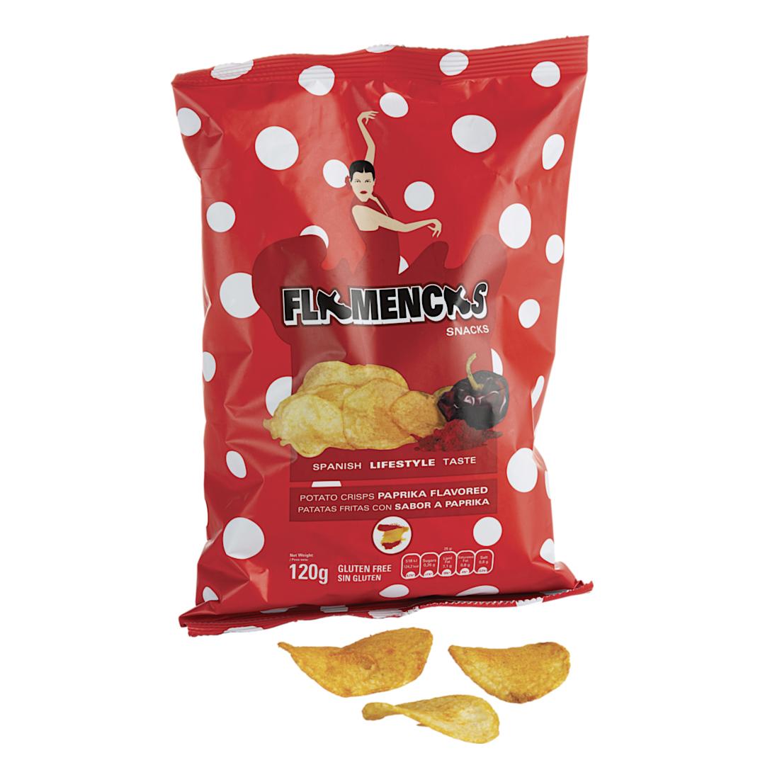 »Flamencas Paprica« Kartoffelchips