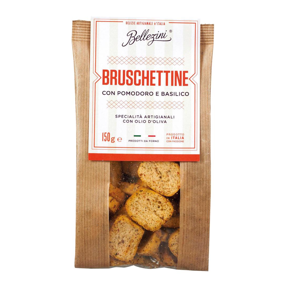 »Bruschettini« con Pomodoro e Basilico