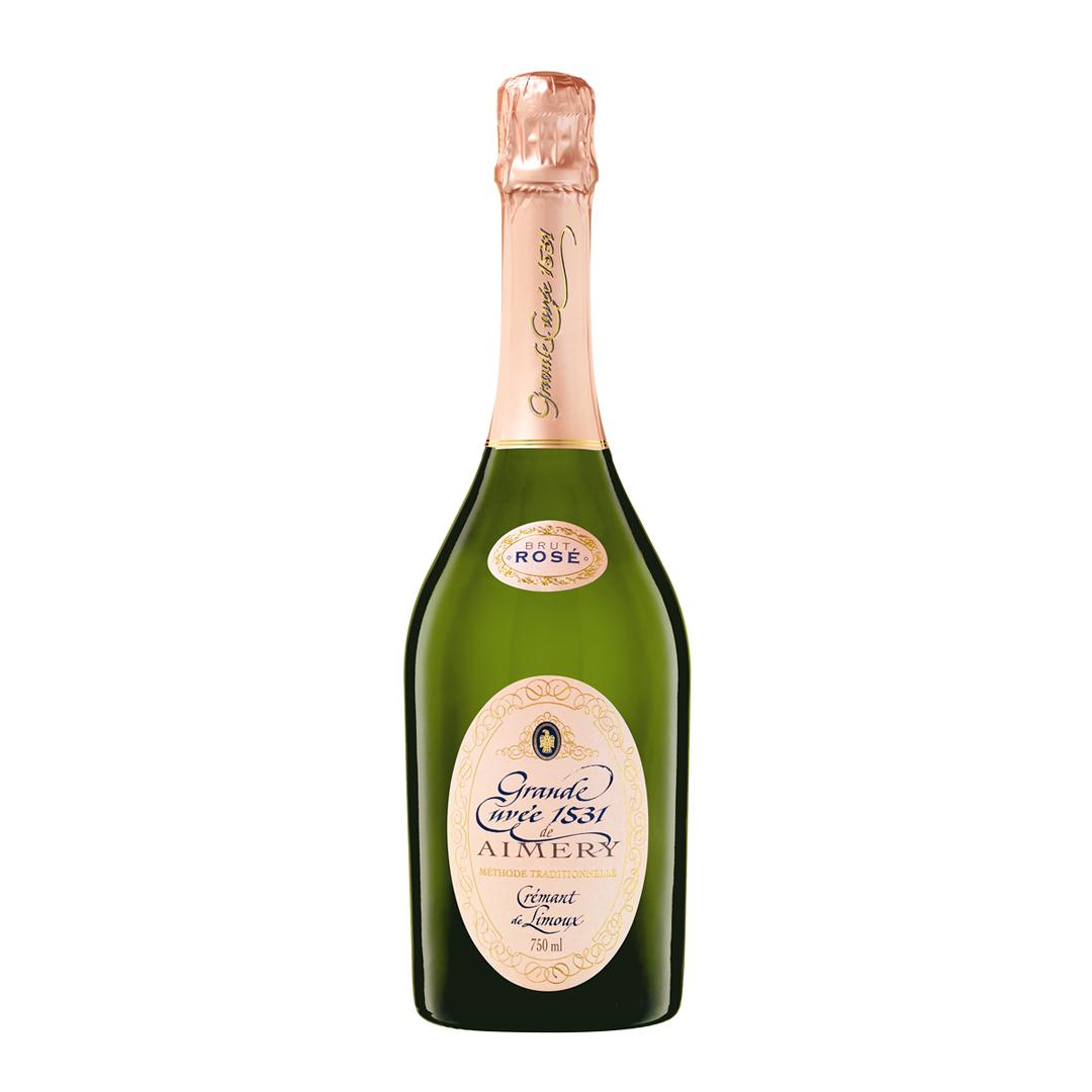 »Grande Cuvée 1531« Crémant rosé brut