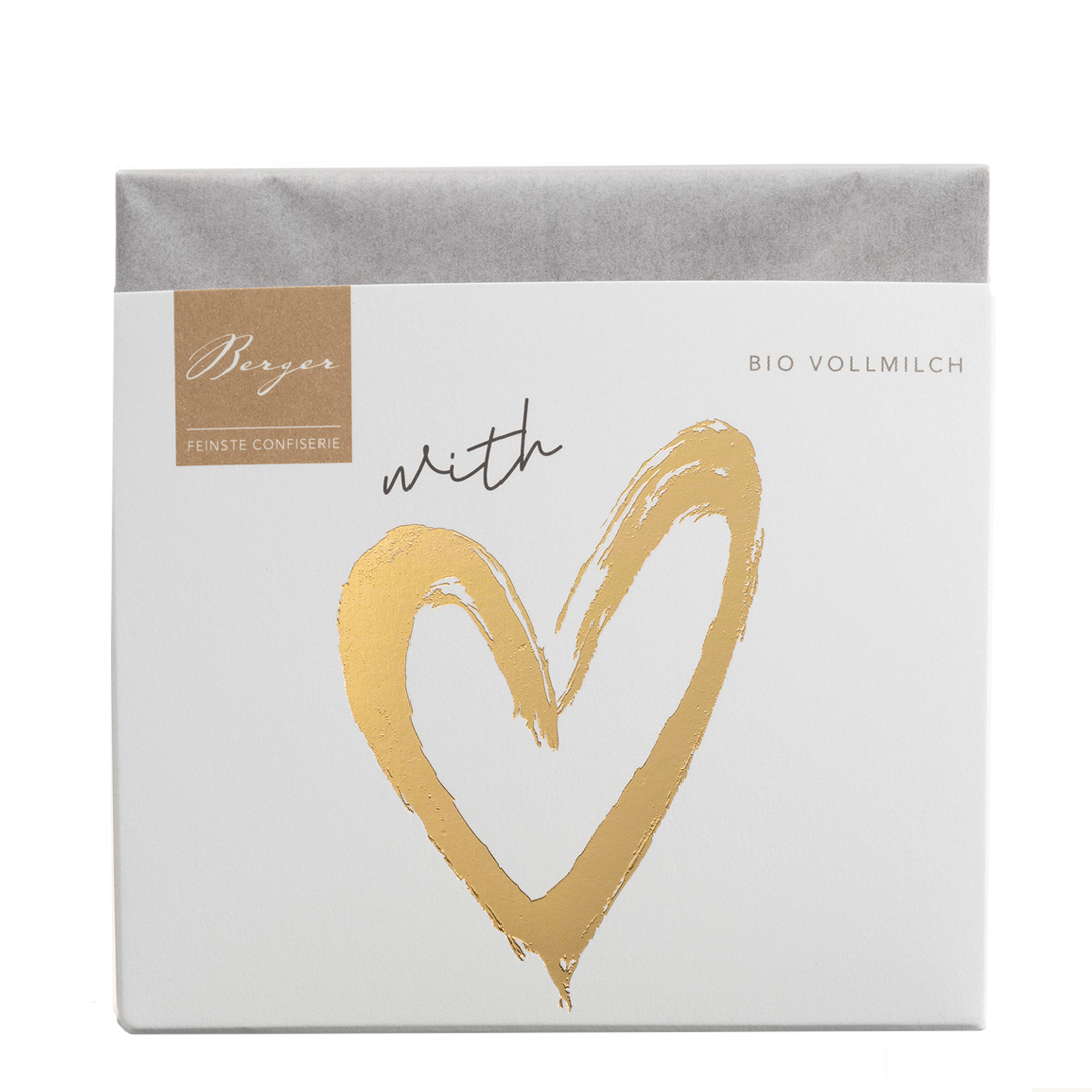 »With Love« Vollmilchschokolade BIO