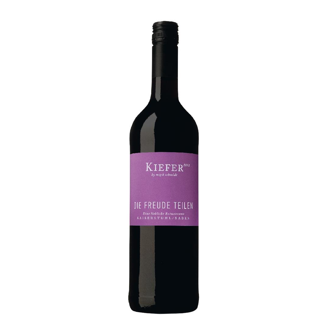 »Die Freude teilen« Rotwein-Cuvée lieblich