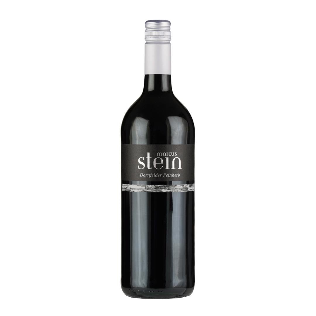 »Stein Dornfelder« Black Label feinherb im Liter