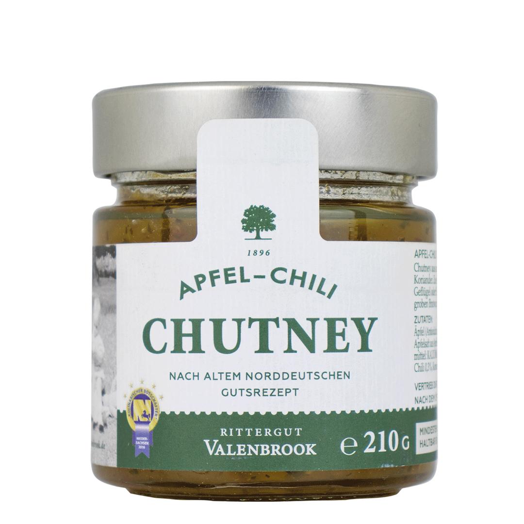 »Apfel-Chili-Chutney«